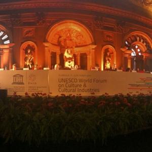02.10.20134. Флоренция. Италия. Третья сессия Всемирного форума ЮНЕСКО по Культуре и Индустриям культуры.