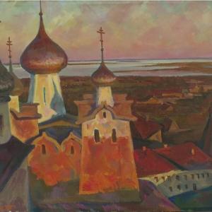 «Жизнь, цвет и образ». Выставка произведений Петра Стронского в Новомосковске