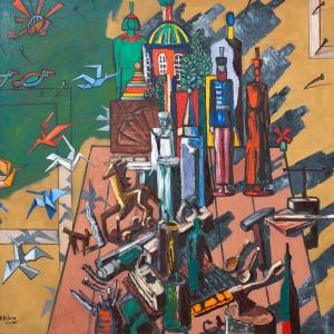 Выставка произведений Василия Бубнова в РАХ