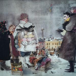 «Провинциальные истории». Выставка произведений Валерия Архипова в Москве