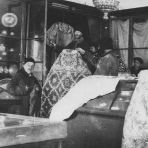 Древлехранилище. 1920- е гг. В.Д. Дервиз