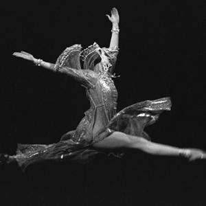 Наталия Бессмертнова в роли Анастасии в сцене из балета С.С.Прокофьева «Иван Грозный»