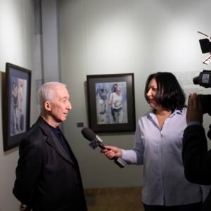 «Войти в реку дважды». Выставка произведений Андрея Есионова в Ташкенте.