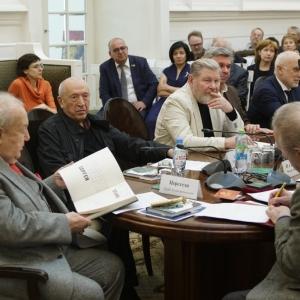 На заседании Президиума РАХ 10 апреля 2018 года