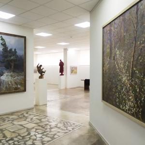 Отчетная выставка стажеров Творческих мастерских РАХ в Красноярске