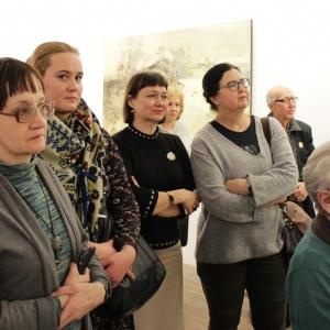 «Космогонические странствия». Выставка произведений Николая Рыбакова.