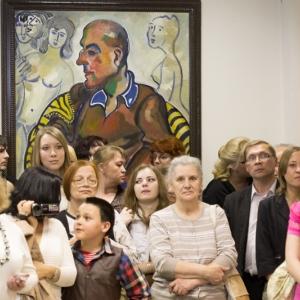 24.05.2012. Открытие выставки произведений З.К.Церетели в Красноярске