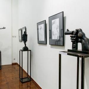 «Tеrrа-bronza». Выставка произведений Андрея Щербакова в Российской академии художеств