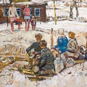 Выставка «Вячеслав Францевич Загонек (1919—1994). К 100-летию со дня рождения» в Русском музее