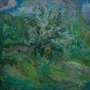 Выставка произведений А.М.Рубец в Черкесске.