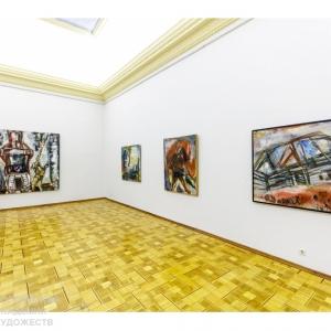 Выставка «Павел Никонов. Живопись наблюдений» в Российской академии художеств. Сентябрь 2020.