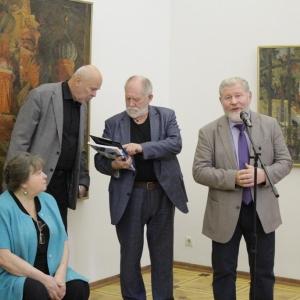 Выставка произведений Раисы Лебедевой.  Живопись.