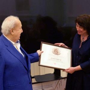 На заседании Президиума Российской академии художеств 17 декабря 2019 года.
