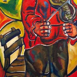 """26.05.2009. Персональная выставка З.К.ЦЕРЕТЕЛИ """"СТО РАБОТ ИЗ ПАРИЖА"""" в Государственной Третьяковской галерее."""