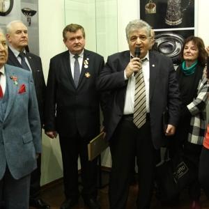 Юбилейная выставка дизайна.  А.Л.Бобыкин. С.И.Квашнин. И.В.Мурадова.