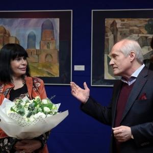 Выставка «Татьянин день. Путешествие на Восток» в галерее Арка. Фото: Б.Сысоев.