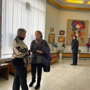 Выставка Николая Дудченко «Вдохновение и форма» в Симферополе