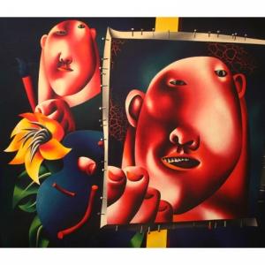 Выставка произведений почетного зарубежного члена РАХ Олега Целкова.  «Я не здешний, я чужой» в МАММ