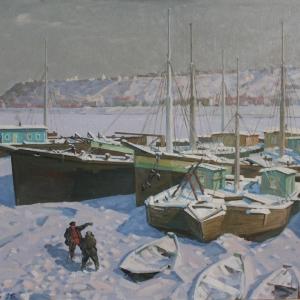 Выставка «Нижегородские художники в Москве» на Покровке, 37.