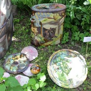 Выставка «Среда обитания. Рождение новой формы –VII» во внутреннем дворике РАХ.