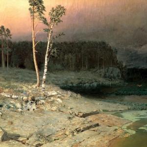 На острове Валаам. 1873 г.