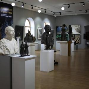 Выставка «Своевременное искусство. Леонид Баранов, его друзья и герои» в Благовещенске.