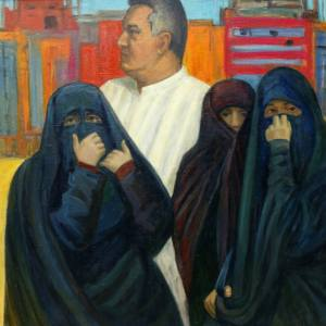С мольбертом по земному шару». Выставка Полины Илюшкиной в Московском доме национальностей