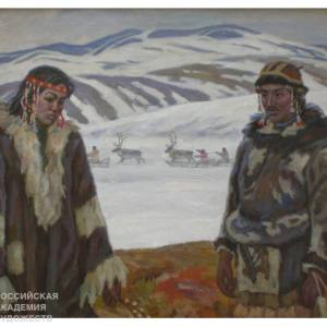«Белое безмолвие». Выставка произведений В.П.Афанасьева в Благовещенске.