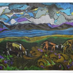 «Традиции и новаторство». Выставка работ преподавателей художественных училищ Сибири в Красноярске.