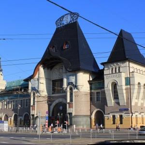 Ф.О.Шехтель. Здание Ярославского вокзала в Москве.