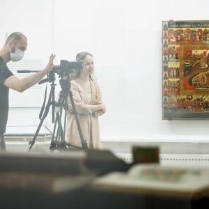 Художественный образовательный проект «Нетленное наследие» в Музейно-выставочном комплексе Российской академии художеств. Фото:И.Новиков-Двинский