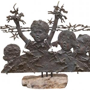 «Жизнь прекрасна». Выставка графики и скульптуры О.Закоморного в Доме книги на Арбате