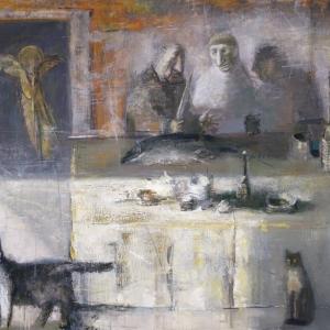 Выставка «Рисунки на столе. Книжная графика Дмитрия Иконникова (1952-2019)» в Москве