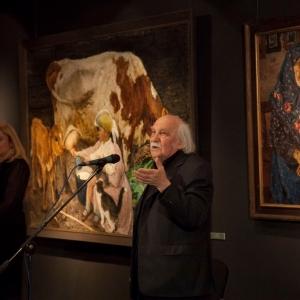 Выставка «Великое искусство Аркадия Пластова» в Академии акварели и изящных искусств Сергея Андрияки