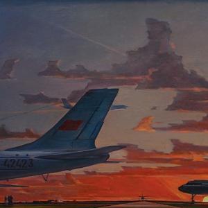 Выставка «Нисский. Горизонт» в Институте русского реалистического искусства.