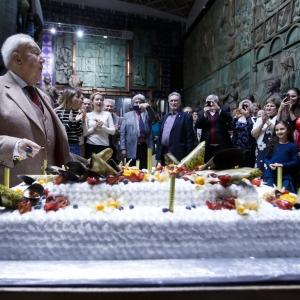 Чествование президента Российской академии художеств З.К.Церетели 10 января 2020 года в связи с 86-летием