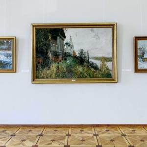 «Под шум берёз». Выставка произведений Олега Молчанова в Российской академии художеств