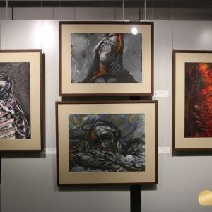 Выставка произведений Виктора Калинина в Первоуральске.