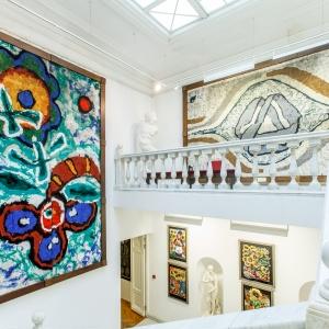 МВК РАХ Галерея искусств Зураба Церетели (Москва, Пречистенка,19). Мраморная лестница