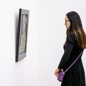 «Чистая живопись». Выставка произведений Никиты Медведева (1950-2018) и Татьяны Алексеевой в Российской академии художеств