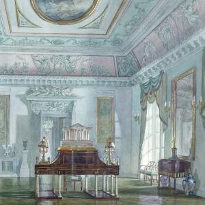 Выставка «Русская усадьба в акварелях Натальи Леоновой» в Библиотеке РАХ