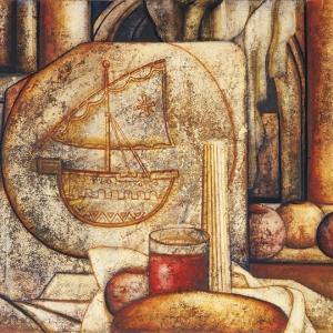 А.И. Майоров. Полиптих «Камни Иерусалима». Фрагмент. 2004.