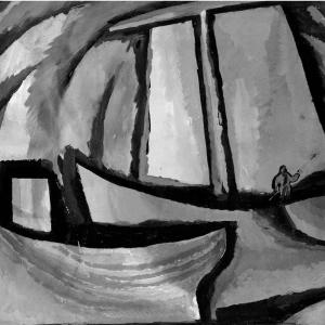 30.04.2021 - 27.05.2021. Выставка «Гравюра на камне» в Красноярске. К 85-летию со дня рождения члена-корреспондента АХ СССР В.Н.Петрова Камчатского (1936-1993)