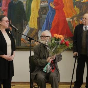Выставка произведений Геннадия Мызникова.