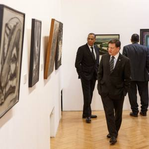 Экскурсия-финисаж по выставке «Между абстракцией и фигуративом: поэтика испанского искусства 50 – 60-х годов XX века»