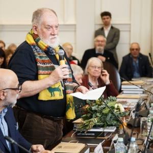 На заседании Президиума РАХ 24 декабря 2019 года