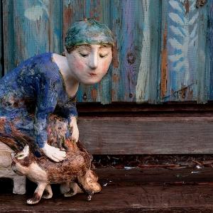 Мастер-класс художника-керамиста Валентины Кузнецовой в МВК РАХ
