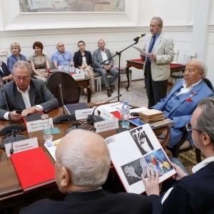На заседании Президиума РАХ 19 июня 2018 года