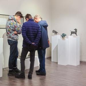 «Творения». Выставка анималистической скульптуры Андрея Марца в Липецке